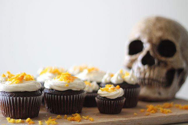 Boo-zy Cointreau Cupcakes | Brit + Co.