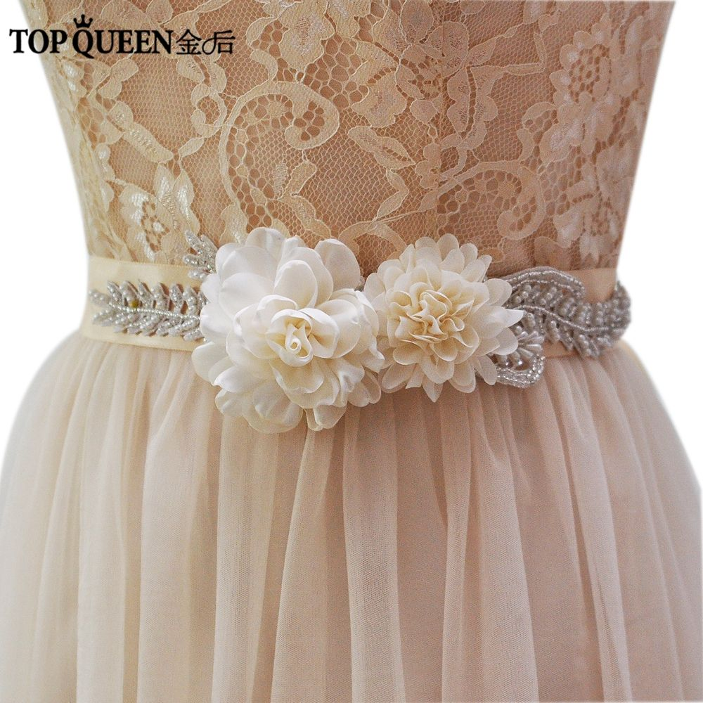 Dress for wedding evening party  Click to Buy ucuc TOPQUEEN womenus S handmade Beautiful Flowers