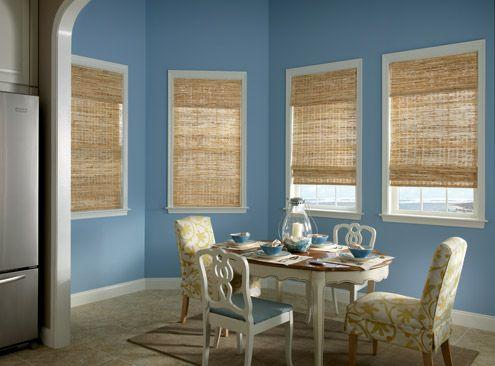Bamboo Blinds Sunroom