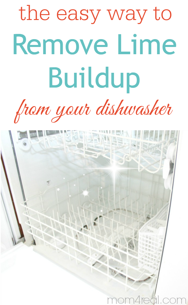 Clean Your Dishwasher Remove Hard Water Deposits Cleaning Your Dishwasher Cleaning Hacks Diy Cleaning Products