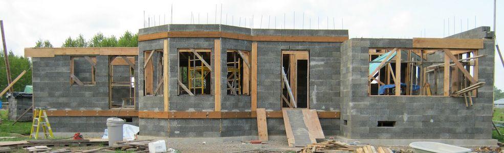 Faswall Organic Building Materials By Shelterworks Organic Building Sustainable Building Materials Natural Building