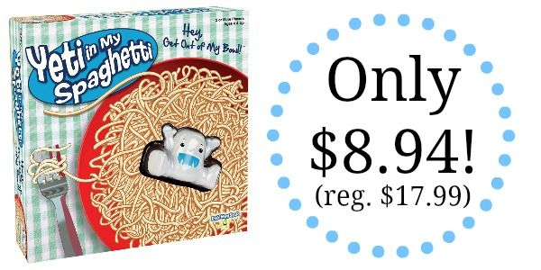 Yeti in My Spaghetti Game - 50% OFF - Only $8.94!