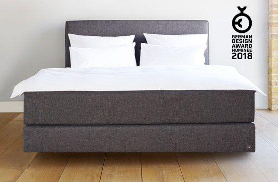 Schwebeoptik Boxspringbett Bett Design