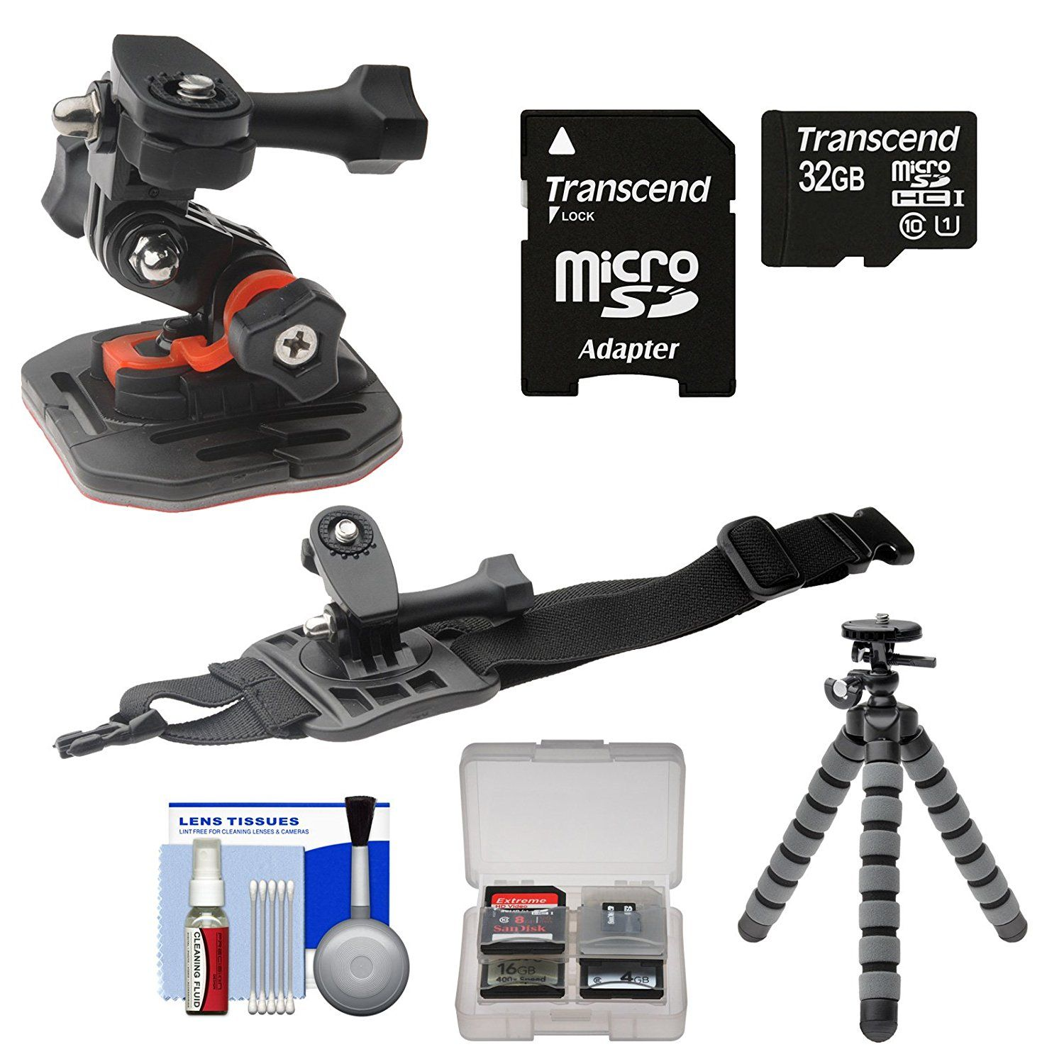 Essentials Bundle For Replay Xd 1080 Mini Video Camera Action Camera Action Video