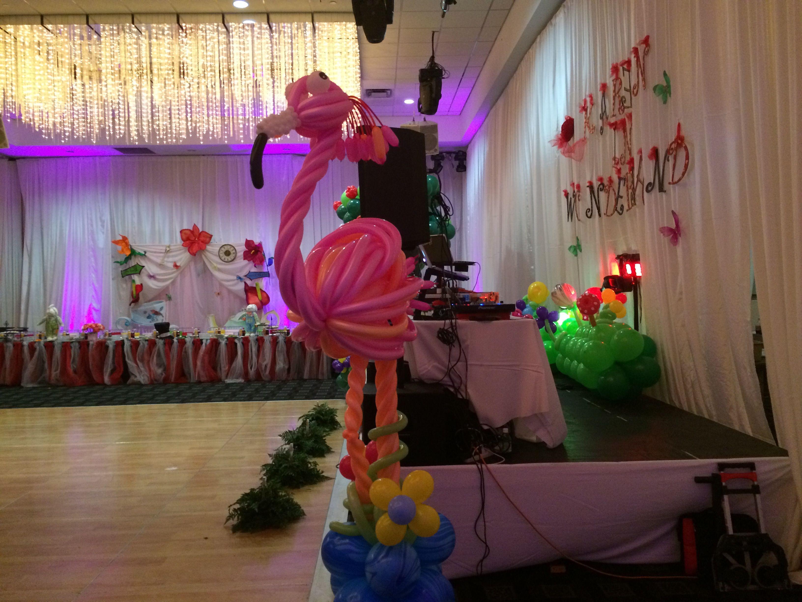 Alice In Wonderland Themed Party Decoration Ideas Wwwdreamarkeventscoml #Thecheshirecat #Madhatter