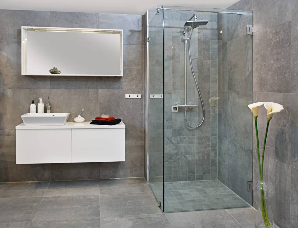 Photo of NEDFELT: Brettet dusjesone er et annet alternativ til en tradisjonell, …