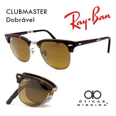 Novidade Da Ray Ban O Ray Ban Rb6295 Clubmaster Aluminum 51 2806