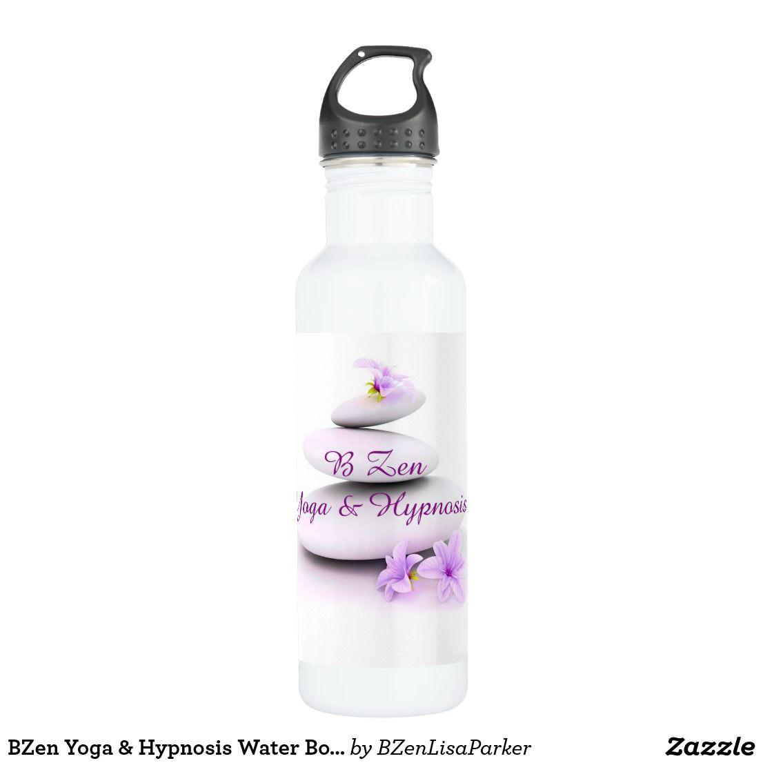 Bzen Yoga Hypnosis Water Bottle Custom Yoga Water Bottles