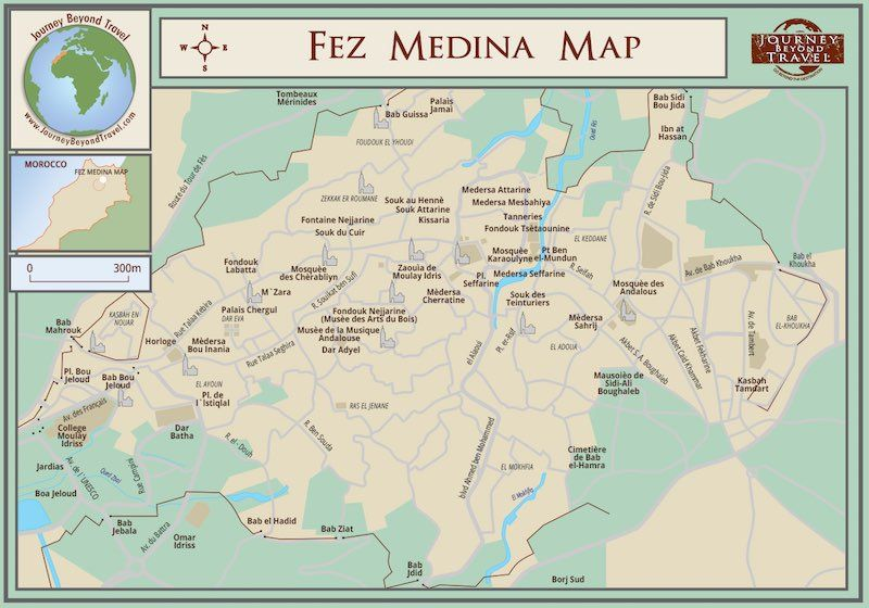 Image result for Map old ancient city Fes Pdf Pinterest