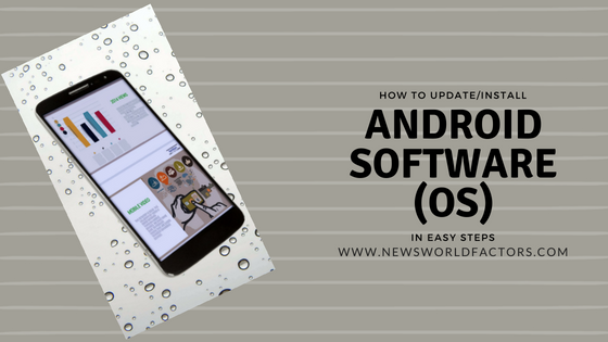 How to Install/Update software in your android phone? Are