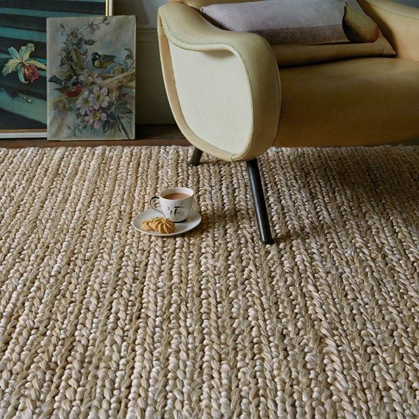 Abacus Jute Rugs In Taupe Free Uk Delivery Chunky Jute Rug Plain Rugs Taupe Rug