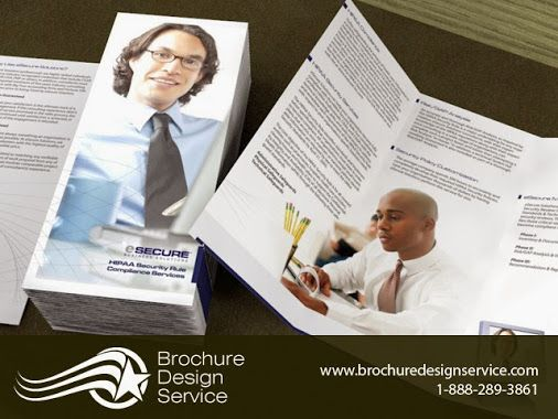 TriFold Brochure Design For ESecurity Company  HttpsPlus