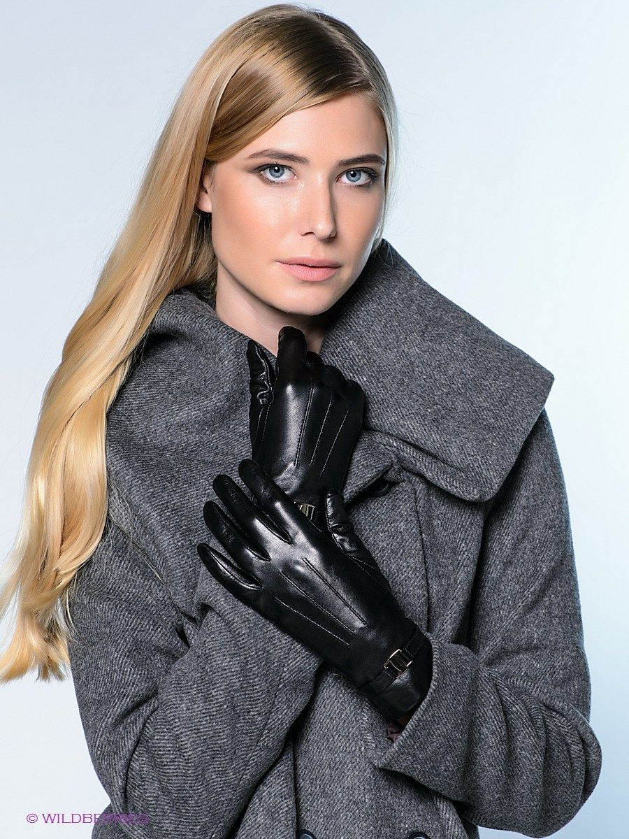 Ladies leather gloves large - Ladies In Leather Gloves