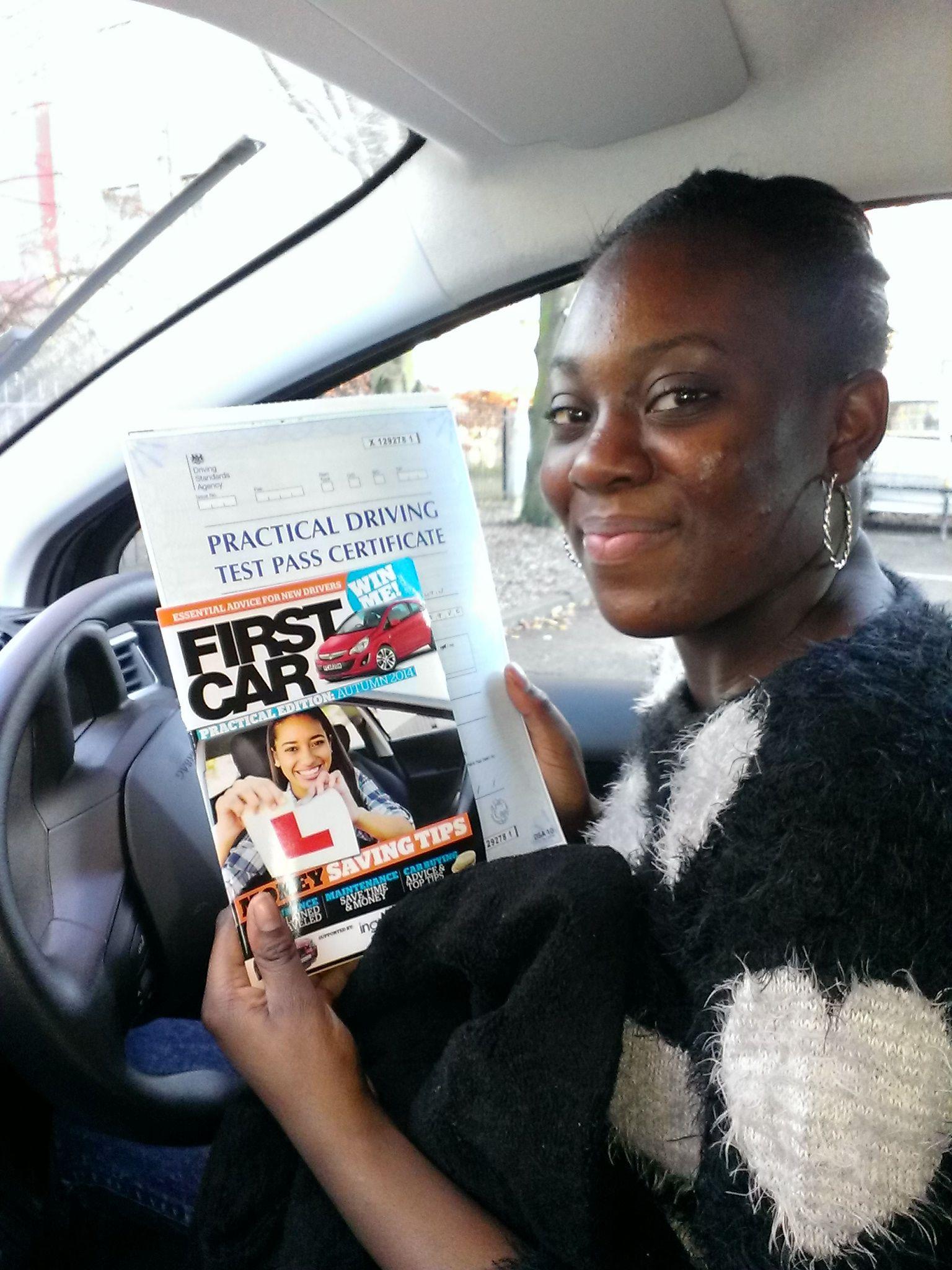 Short Notice Driving Test Car Hire London