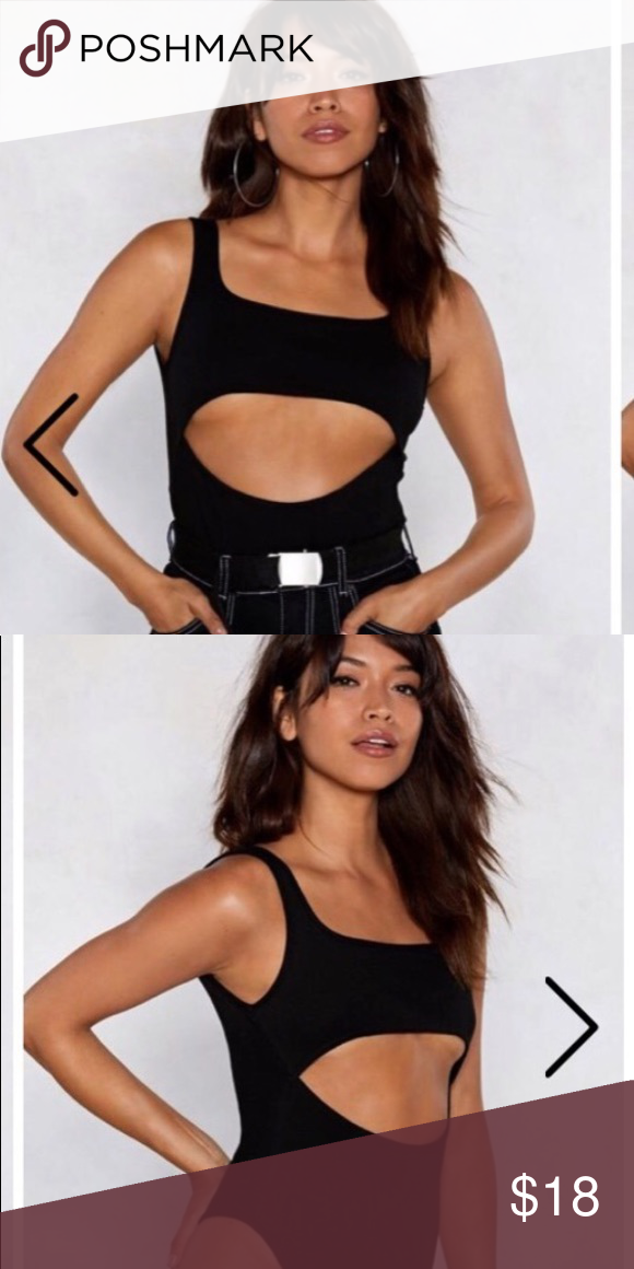 179698f3ee Black body suit - sexy underboob look Super flattering i love this piece  buy my boyfriend