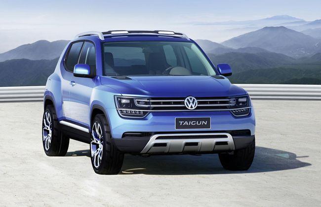 Volkswagen may unveil Taigun compact SUV at Frankfurt Motor Show?. #Volkswagencars