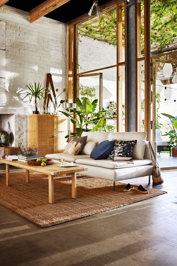 Ikea Stockholm Sofa 2017 White Couch Sofas Living Room