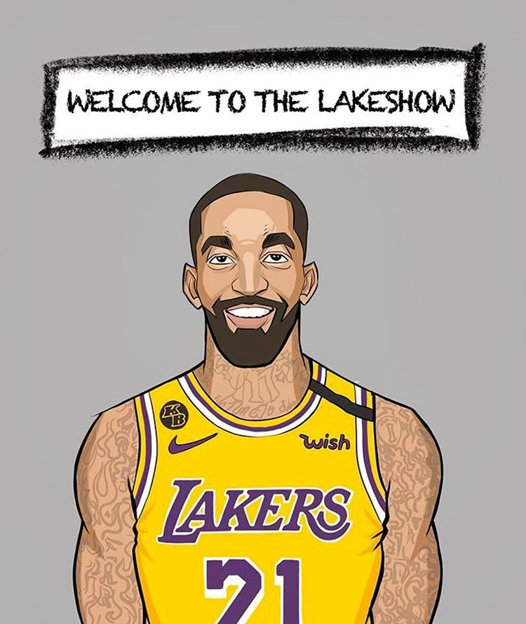 Instagram 上的 Los Angeles Lakers Describe J R Smith In One Word In 2020 Sports Design Los Angeles Lakers Sports
