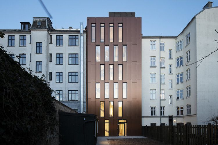 Youth Housing Nansensgade Christensen Co Architects Facade