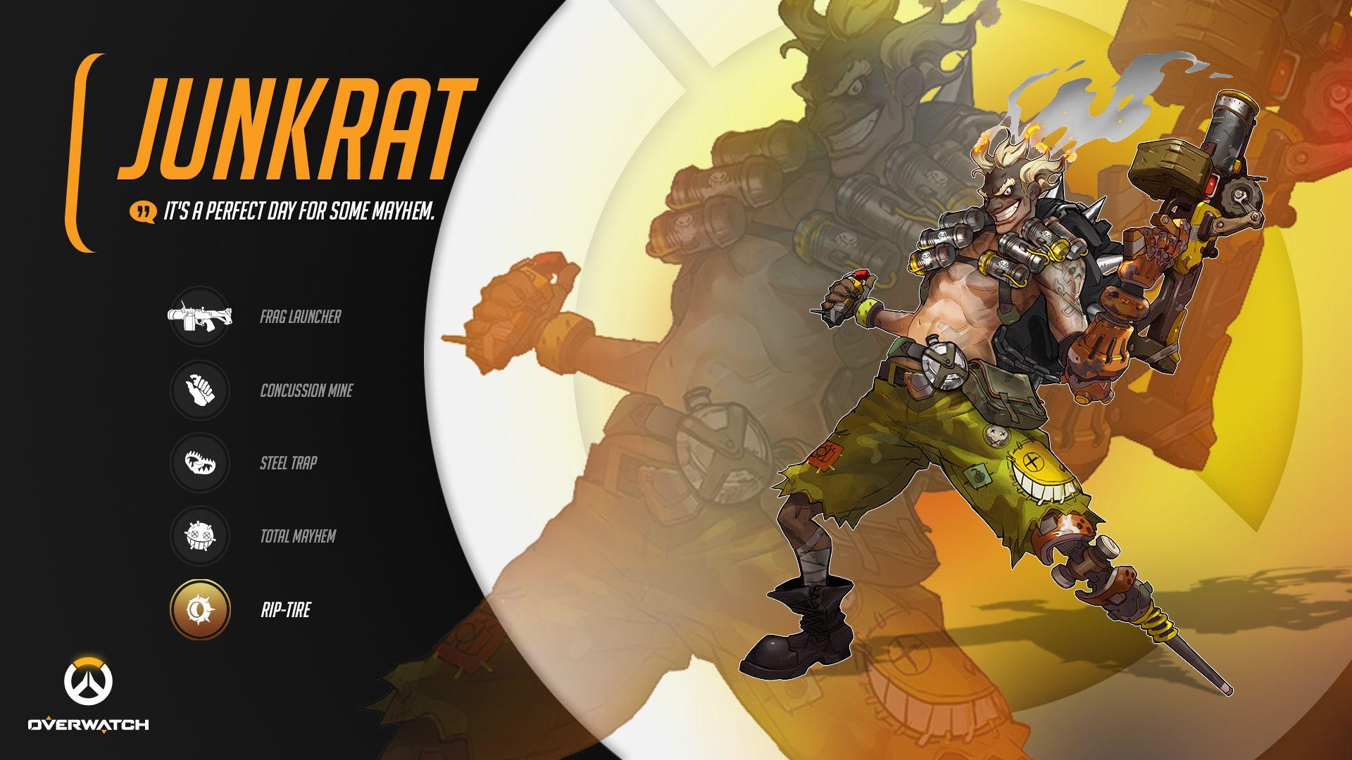 Junkrat Overwatch Wallpapers Anime Wallpaper Overwatch