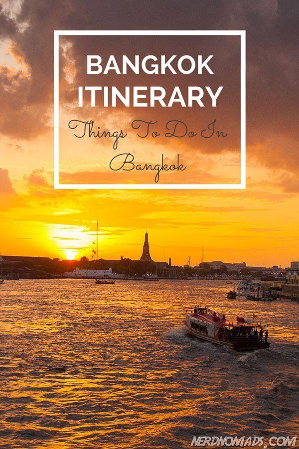 Heading for Bangkok? Check out this Bangkok itinerary on what do do and see in Bangkok!