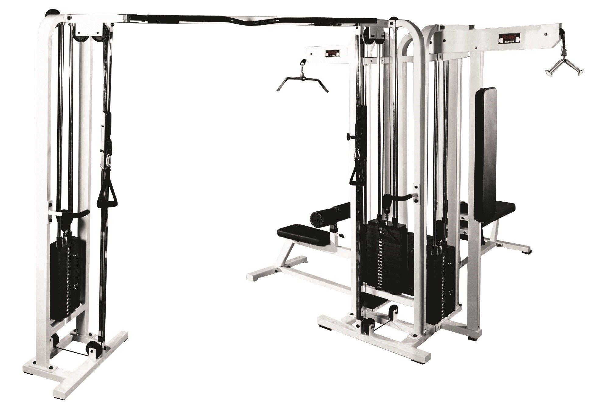 Homcom Multi Gym Workstation Home Workout Station Toning Body Building