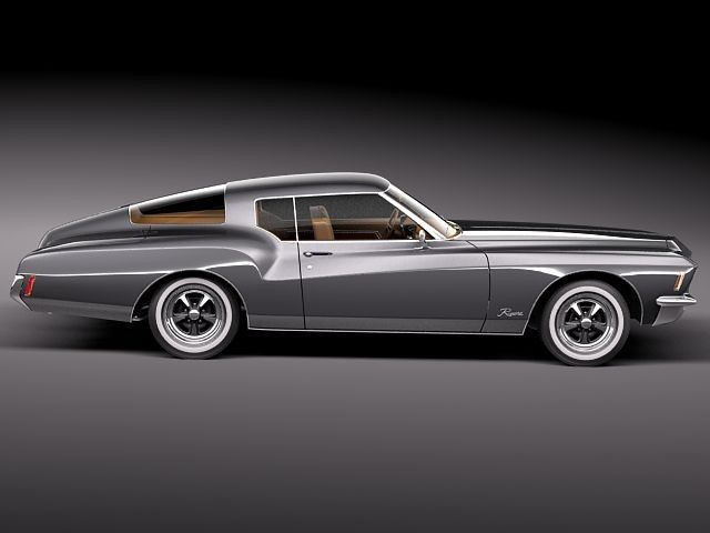 Buick Riviera GS Boattail 1971=
