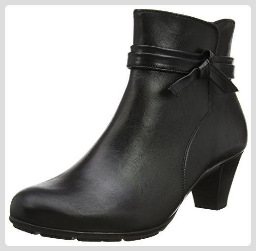 Gabor Shoes Damen Gabor Basic Stiefel, Schwarz (27 Schwarz