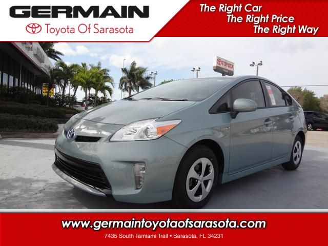 Explore The New 2013 Toyota Prius Hybrid Three Hatchback  Germain Toyota Of  Sarasota