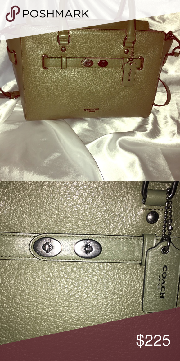 Coach Blake New # 35689 A large and very current bag. Still in original Coach wrapping. Coach Bags Crossbody Bags