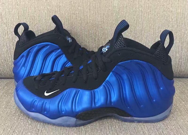 competitive price e3bbf 61528 nike foamposites on sale blue suede nikes