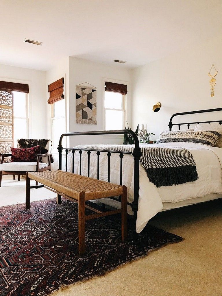 31+ Luxury Boho Bedroom Decorating on a Budget in 2020 ... on Bohemian Bedroom Ideas On A Budget  id=99930