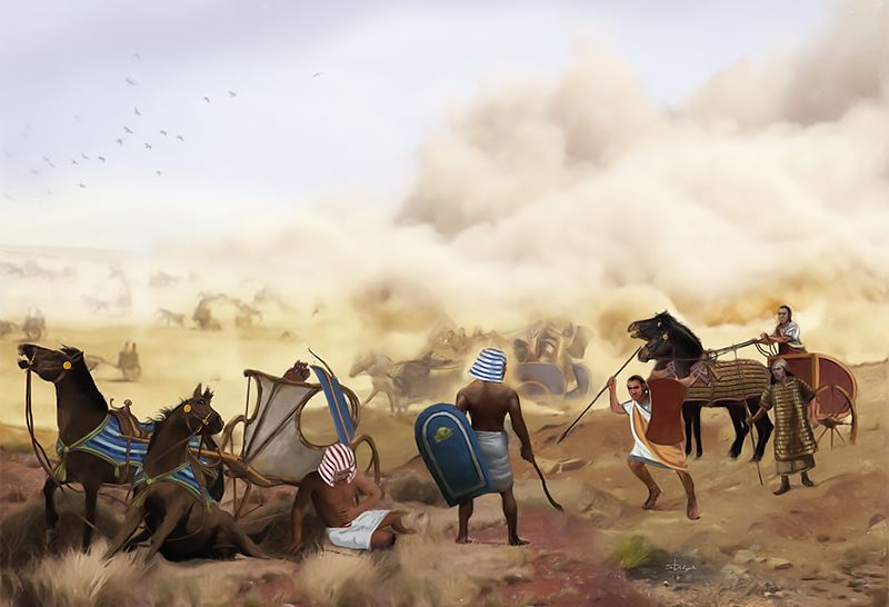 """""""Carros de guerra: la batalla de Qadesh"""" Sandra Delgado"""