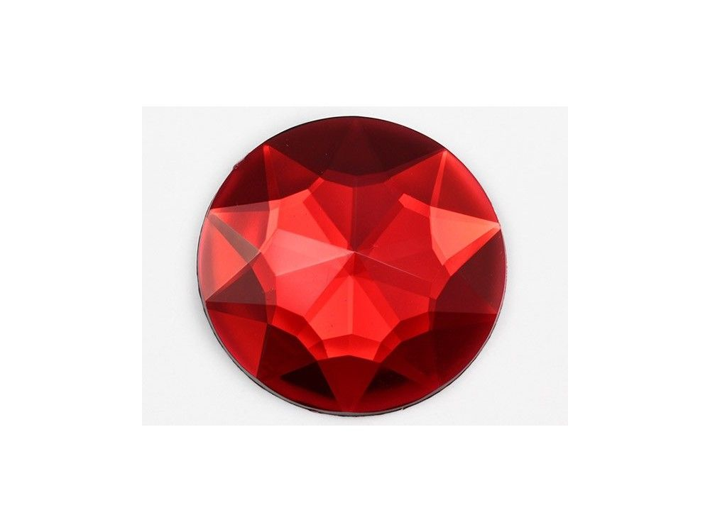 43mm Red Ruby H103 Large Self Adhesive Round Jewels 2