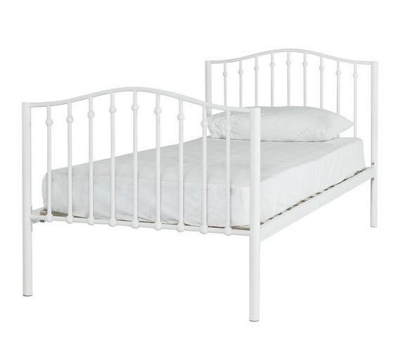 Buy Home Romantic Single Metal Bed Frame At Argos Co Uk Visit Argos Co Uk To Shop Online For Children S Beds Beds Bedroom Furniture Single Metal Bed Frame Single Metal Bed Metal Beds