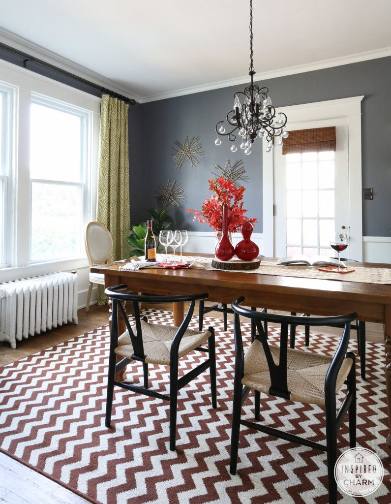Fall Home Tour 2014  Room Room Colors And House Entrancing 2014 Dining Room Colors Design Ideas