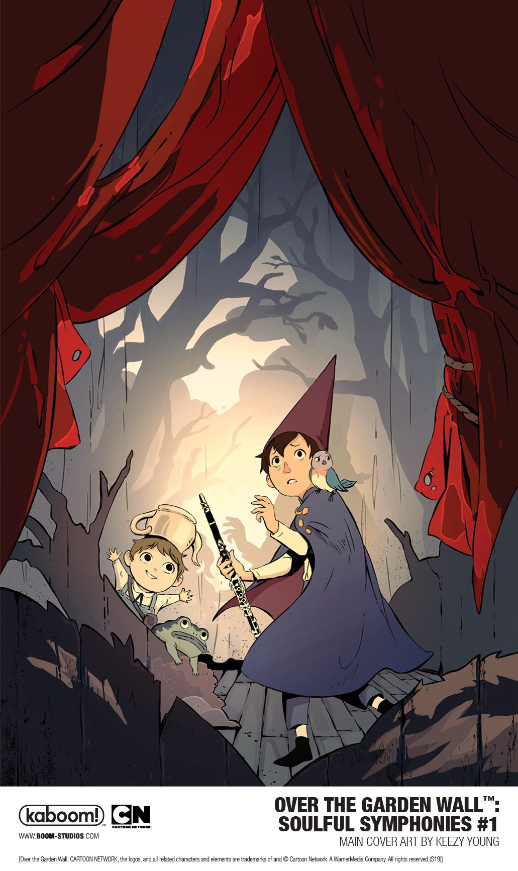 Boomstudios Announces New Series Over The Garden Wall Soulful