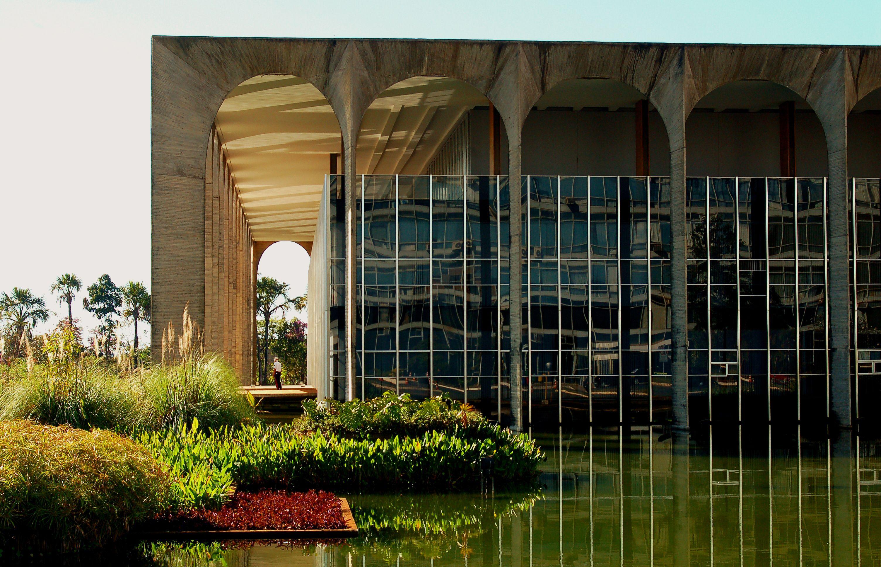 Palácio Itamaraty - Oscar Niemeyer / Brasília-Brasil
