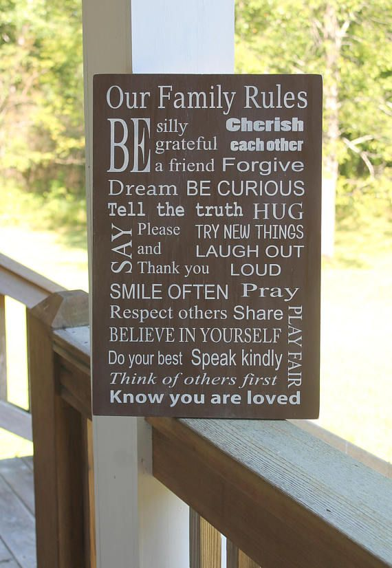 Family Rules Family Rules Sign House Rules House Rules Family Rules Sign Family Rules House Rules Sign