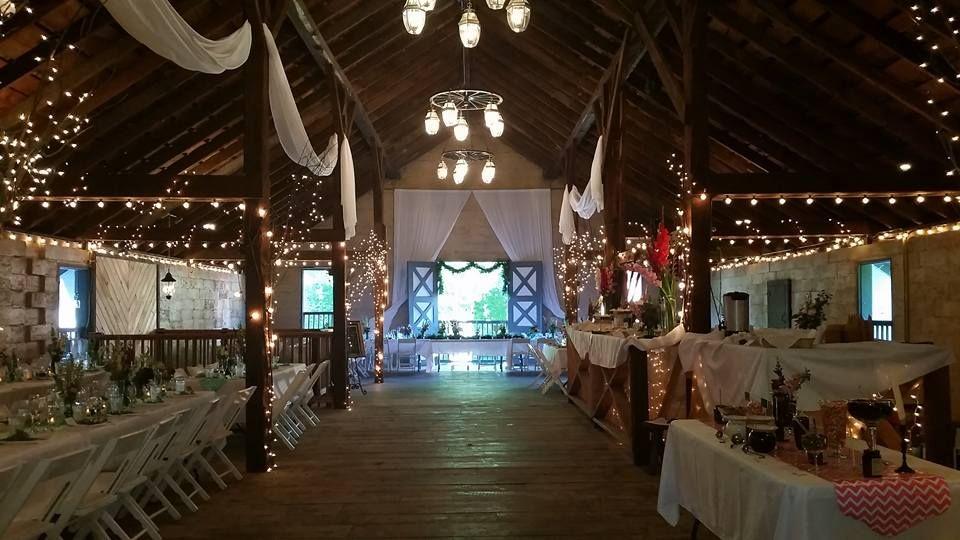 Beatuiful Barn Wedding #barnwedding #tablesandchairs #jamestownawning