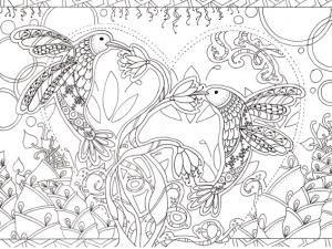 Les oiseaux amoureux - par Magali Tuffier