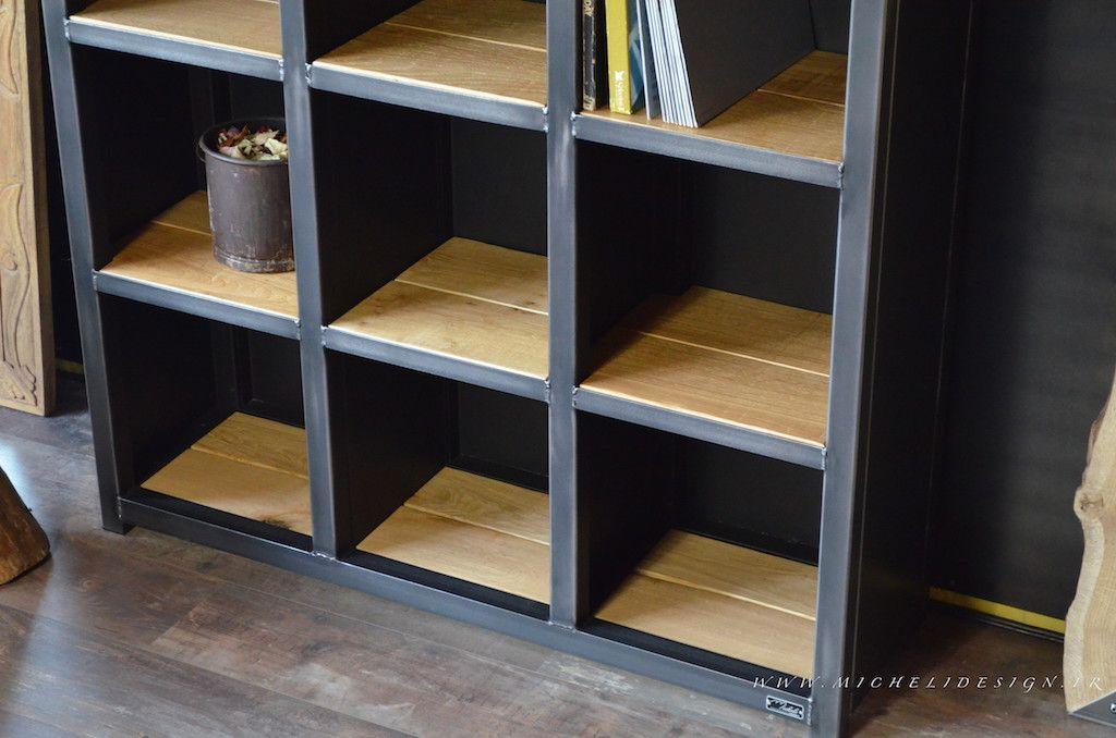 rangement vinyle meuble tagre 33 tours micheli design