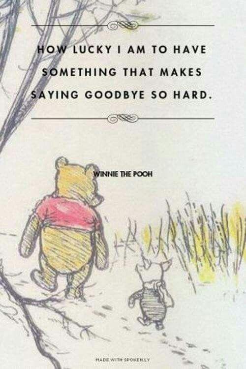 Winnie The Pooh Goodbye Charlie Wwwpicswecom