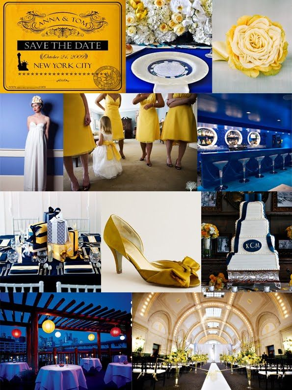 A Deep Golden Yellow For Accenting Royal Bluenot Bright Summery No Dressesbut You Get The Gist