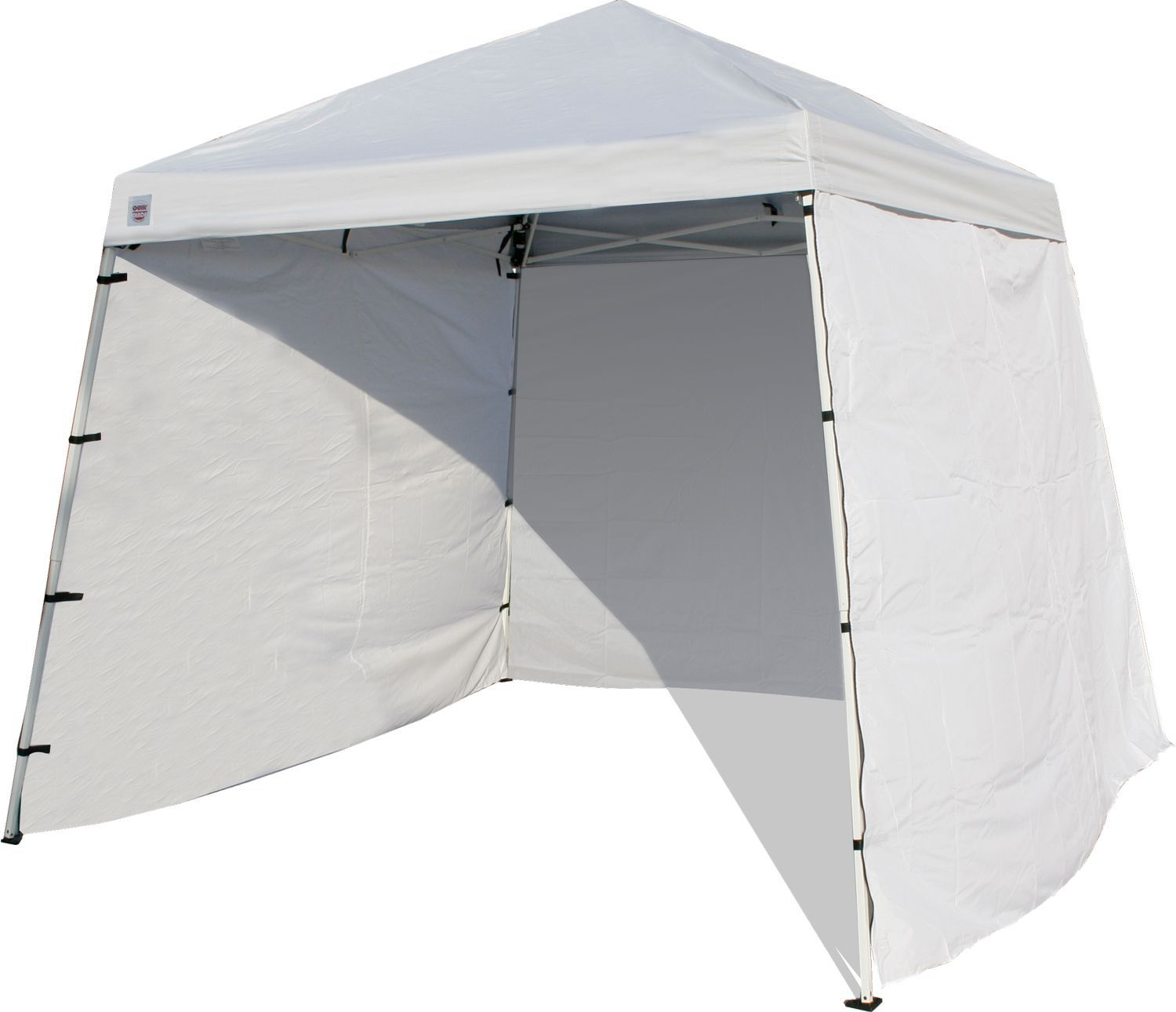 A Slice Of Shade Creating Canopies: Quik Shade W64 1 Piece PE Canopy Wall, White