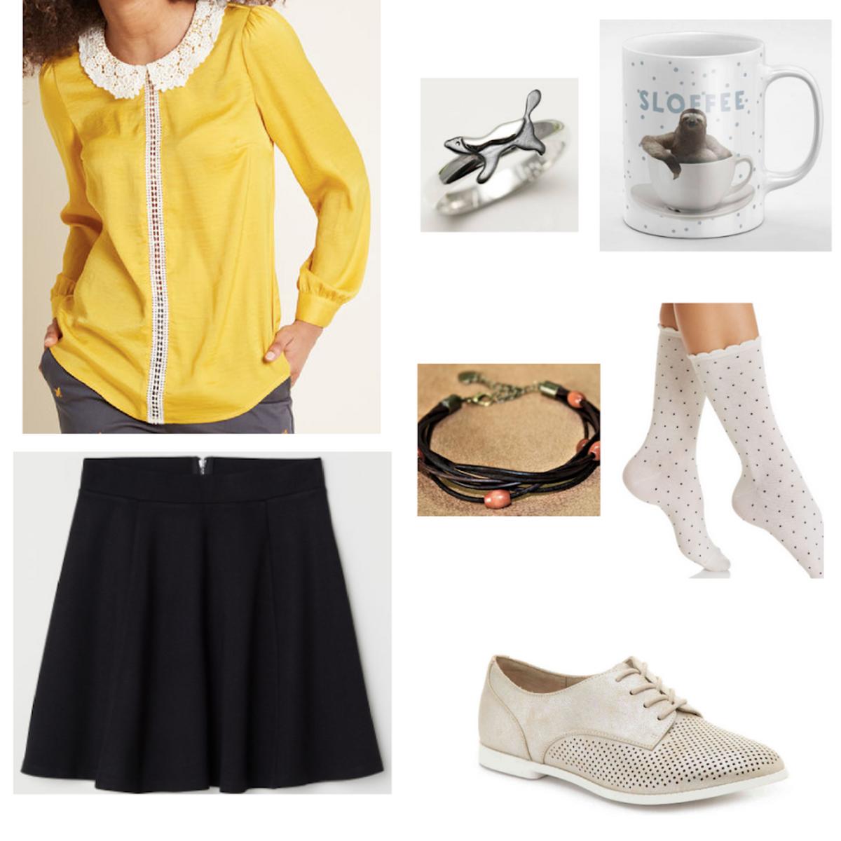 c20b83f4665b Fashion Inspired by the Hogwarts Houses - Hufflepuff