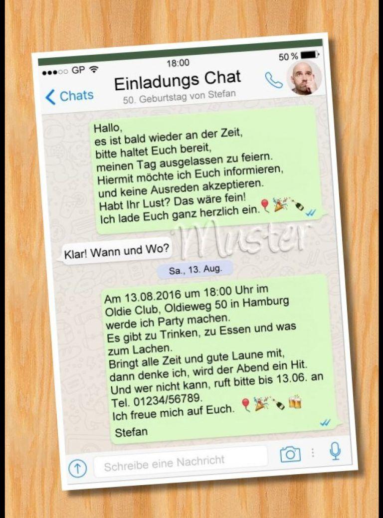 Geburtstagseinladung Vorlagen Kostenlos Ausdrucken Whatsapp