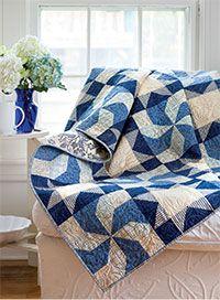 Blueberry Swirl Quilt Kit from ShopFonsandPorter.com
