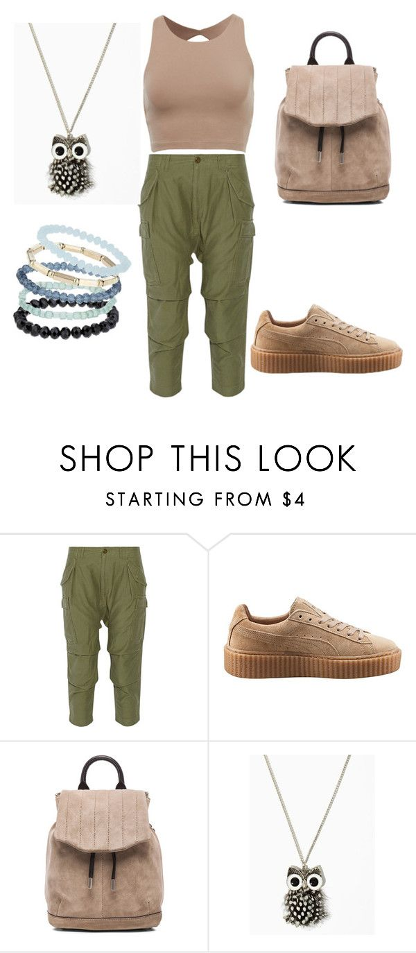 """""""Cute n comfy"""" by hibam3 ❤ liked on Polyvore featuring NLST, Puma, rag & bone and Topshop"""