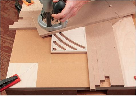 How To Build A Trivet Using A Simple Trammel Jig Jigs And Fixtures